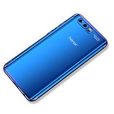 Silikon Schutzhülle Ultra Dünn Tasche Durchsichtig Transparent H02 für Huawei Honor 9 Blau