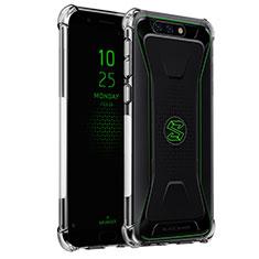 Silikon Schutzhülle Ultra Dünn Tasche Durchsichtig Transparent H02 für Xiaomi Black Shark Klar