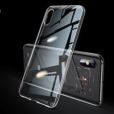 Silikon Schutzhülle Ultra Dünn Tasche Durchsichtig Transparent H02 für Xiaomi Mi 8 Explorer Klar