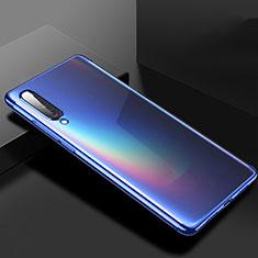 Silikon Schutzhülle Ultra Dünn Tasche Durchsichtig Transparent H02 für Xiaomi Mi A3 Blau