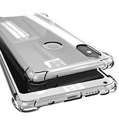 Silikon Schutzhülle Ultra Dünn Tasche Durchsichtig Transparent H02 für Xiaomi Mi Mix 2S Klar