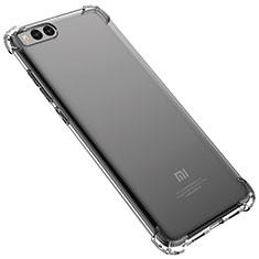 Silikon Schutzhülle Ultra Dünn Tasche Durchsichtig Transparent H02 für Xiaomi Mi Note 3 Klar