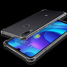 Silikon Schutzhülle Ultra Dünn Tasche Durchsichtig Transparent H02 für Xiaomi Mi Play 4G Klar