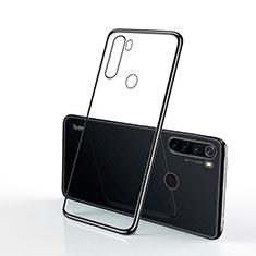 Silikon Schutzhülle Ultra Dünn Tasche Durchsichtig Transparent H02 für Xiaomi Redmi Note 8T Schwarz
