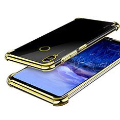 Silikon Schutzhülle Ultra Dünn Tasche Durchsichtig Transparent H03 für Huawei Honor Note 10 Gold