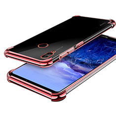 Silikon Schutzhülle Ultra Dünn Tasche Durchsichtig Transparent H03 für Huawei Honor Note 10 Rosegold