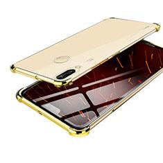 Silikon Schutzhülle Ultra Dünn Tasche Durchsichtig Transparent H03 für Huawei Nova 3 Gold