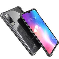 Silikon Schutzhülle Ultra Dünn Tasche Durchsichtig Transparent H03 für Xiaomi Mi 9 Lite Grau