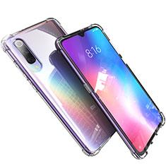 Silikon Schutzhülle Ultra Dünn Tasche Durchsichtig Transparent H03 für Xiaomi Mi 9 Lite Klar