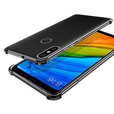 Silikon Schutzhülle Ultra Dünn Tasche Durchsichtig Transparent H03 für Xiaomi Mi A2 Grau