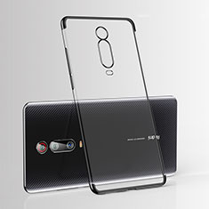 Silikon Schutzhülle Ultra Dünn Tasche Durchsichtig Transparent H03 für Xiaomi Redmi K20 Pro Schwarz