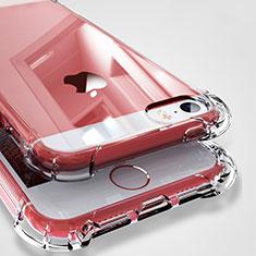 Silikon Schutzhülle Ultra Dünn Tasche Durchsichtig Transparent H04 für Apple iPhone SE Klar