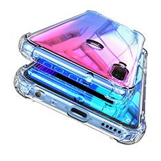 Silikon Schutzhülle Ultra Dünn Tasche Durchsichtig Transparent H04 für Huawei Enjoy 9 Plus Klar