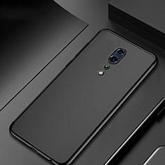 Silikon Schutzhülle Ultra Dünn Tasche Durchsichtig Transparent H04 für Oppo Reno Z Schwarz