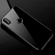 Silikon Schutzhülle Ultra Dünn Tasche Durchsichtig Transparent H04 für Xiaomi Redmi Note 7 Pro Schwarz