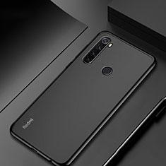 Silikon Schutzhülle Ultra Dünn Tasche Durchsichtig Transparent H04 für Xiaomi Redmi Note 8 Schwarz