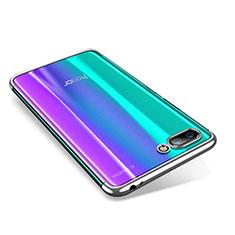 Silikon Schutzhülle Ultra Dünn Tasche Durchsichtig Transparent H05 für Huawei Honor 10 Silber