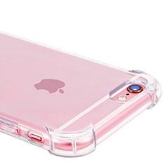 Silikon Schutzhülle Ultra Dünn Tasche Durchsichtig Transparent H07 für Apple iPhone 6S Plus Klar