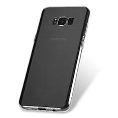 Silikon Schutzhülle Ultra Dünn Tasche Durchsichtig Transparent H08 für Samsung Galaxy S8 Plus Klar