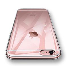 Silikon Schutzhülle Ultra Dünn Tasche Durchsichtig Transparent H12 für Apple iPhone 6S Klar
