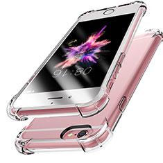 Silikon Schutzhülle Ultra Dünn Tasche Durchsichtig Transparent H14 für Apple iPhone 6S Klar