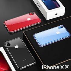 Silikon Schutzhülle Ultra Dünn Tasche Durchsichtig Transparent HC02 für Apple iPhone XR Klar