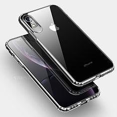 Silikon Schutzhülle Ultra Dünn Tasche Durchsichtig Transparent HC04 für Apple iPhone XR Klar