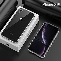 Silikon Schutzhülle Ultra Dünn Tasche Durchsichtig Transparent HC05 für Apple iPhone XR Klar