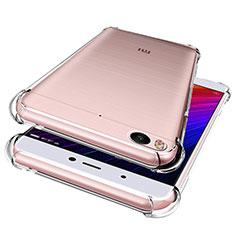 Silikon Schutzhülle Ultra Dünn Tasche Durchsichtig Transparent HT01 für Xiaomi Mi 5S Klar