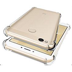 Silikon Schutzhülle Ultra Dünn Tasche Durchsichtig Transparent HT01 für Xiaomi Redmi 4X Klar