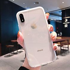 Silikon Schutzhülle Ultra Dünn Tasche Durchsichtig Transparent K01 für Apple iPhone XR Klar