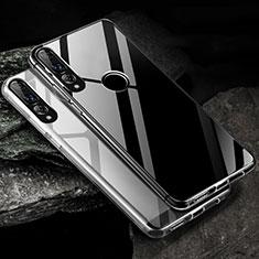 Silikon Schutzhülle Ultra Dünn Tasche Durchsichtig Transparent K01 für Huawei Honor 20 Lite Klar