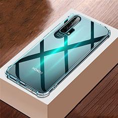Silikon Schutzhülle Ultra Dünn Tasche Durchsichtig Transparent K01 für Huawei Honor 20 Pro Klar