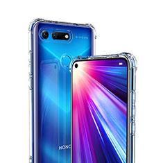 Silikon Schutzhülle Ultra Dünn Tasche Durchsichtig Transparent K01 für Huawei Honor V20 Klar