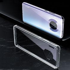 Silikon Schutzhülle Ultra Dünn Tasche Durchsichtig Transparent K01 für Huawei Mate 30 Klar