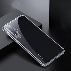 Silikon Schutzhülle Ultra Dünn Tasche Durchsichtig Transparent K01 für Huawei Nova 5 Pro Klar