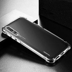 Silikon Schutzhülle Ultra Dünn Tasche Durchsichtig Transparent K01 für Huawei P20 Pro Klar