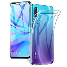 Silikon Schutzhülle Ultra Dünn Tasche Durchsichtig Transparent K01 für Huawei P30 Lite XL Klar