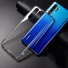 Silikon Schutzhülle Ultra Dünn Tasche Durchsichtig Transparent K01 für Huawei P30 Pro Klar