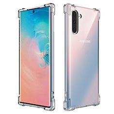 Silikon Schutzhülle Ultra Dünn Tasche Durchsichtig Transparent K01 für Samsung Galaxy Note 10 5G Klar