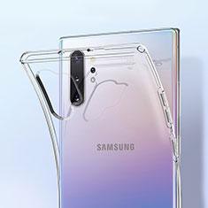Silikon Schutzhülle Ultra Dünn Tasche Durchsichtig Transparent K01 für Samsung Galaxy Note 10 Plus 5G Klar