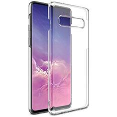 Silikon Schutzhülle Ultra Dünn Tasche Durchsichtig Transparent K01 für Samsung Galaxy S10 Klar
