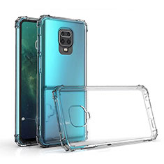 Silikon Schutzhülle Ultra Dünn Tasche Durchsichtig Transparent K01 für Xiaomi Poco M2 Pro Klar