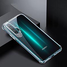 Silikon Schutzhülle Ultra Dünn Tasche Durchsichtig Transparent K02 für Huawei Honor 20 Pro Klar