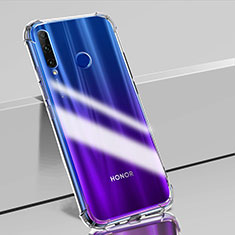 Silikon Schutzhülle Ultra Dünn Tasche Durchsichtig Transparent K02 für Huawei Honor 20E Klar