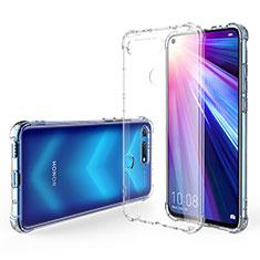 Silikon Schutzhülle Ultra Dünn Tasche Durchsichtig Transparent K02 für Huawei Honor V20 Klar