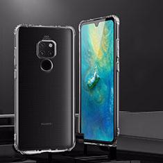 Silikon Schutzhülle Ultra Dünn Tasche Durchsichtig Transparent K02 für Huawei Mate 20 Klar