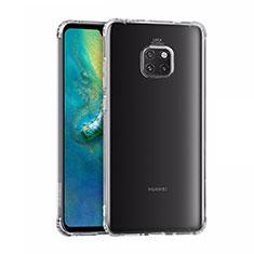 Silikon Schutzhülle Ultra Dünn Tasche Durchsichtig Transparent K02 für Huawei Mate 20 Pro Klar