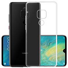 Silikon Schutzhülle Ultra Dünn Tasche Durchsichtig Transparent K02 für Huawei Mate 20 X 5G Klar