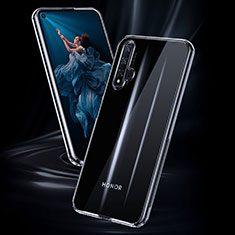 Silikon Schutzhülle Ultra Dünn Tasche Durchsichtig Transparent K02 für Huawei Nova 5T Klar
